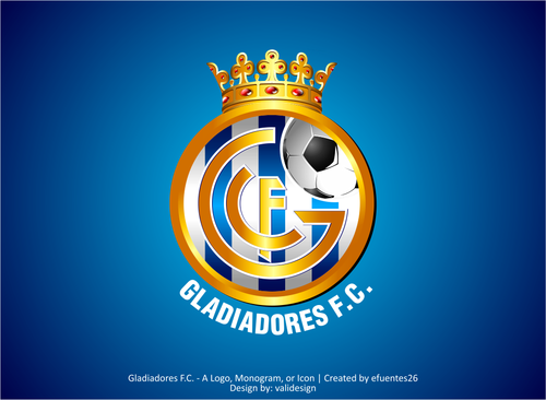 Gladiadores F.C. but not necessarily A Logo, Monogram, or Icon  Draft # 23 by validesign