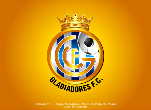 Gladiadores F.C. but not necessarily A Logo, Monogram, or Icon  Draft # 24 by validesign