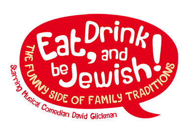 Eat, Drink and Be Jewish!    The Funny Side of Family Traditions A Logo, Monogram, or Icon  Draft # 15 by alcoholix