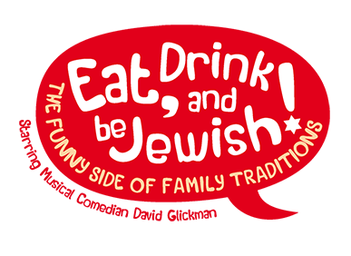 Eat, Drink and Be Jewish!    The Funny Side of Family Traditions A Logo, Monogram, or Icon  Draft # 17 by alcoholix