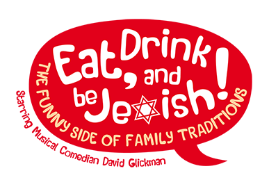 Eat, Drink and Be Jewish!    The Funny Side of Family Traditions A Logo, Monogram, or Icon  Draft # 20 by alcoholix