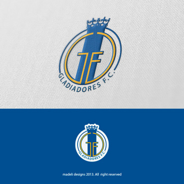Gladiadores F.C. but not necessarily A Logo, Monogram, or Icon  Draft # 30 by madeli