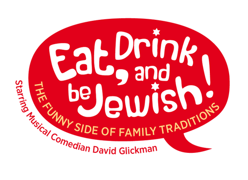 Eat, Drink and Be Jewish!    The Funny Side of Family Traditions A Logo, Monogram, or Icon  Draft # 28 by alcoholix