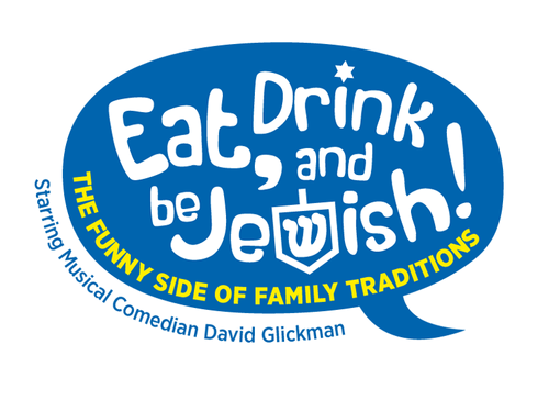 Eat, Drink and Be Jewish!    The Funny Side of Family Traditions A Logo, Monogram, or Icon  Draft # 43 by alcoholix