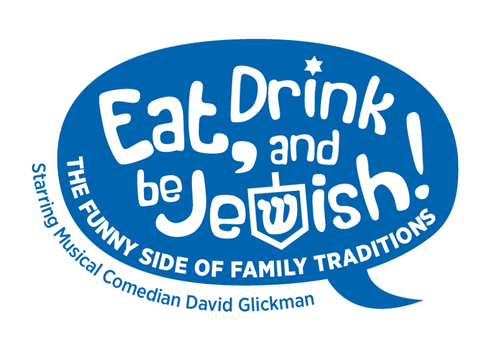 Eat, Drink and Be Jewish!    The Funny Side of Family Traditions A Logo, Monogram, or Icon  Draft # 44 by alcoholix
