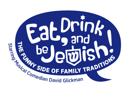 Eat, Drink and Be Jewish!    The Funny Side of Family Traditions A Logo, Monogram, or Icon  Draft # 48 by alcoholix