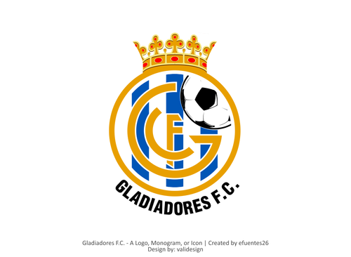 Gladiadores F.C. but not necessarily A Logo, Monogram, or Icon  Draft # 42 by validesign