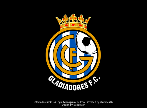 Gladiadores F.C. but not necessarily A Logo, Monogram, or Icon  Draft # 43 by validesign