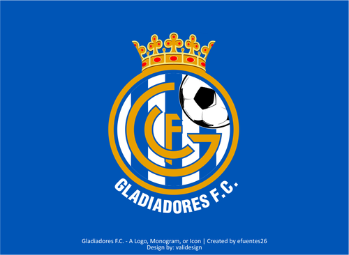 Gladiadores F.C. but not necessarily A Logo, Monogram, or Icon  Draft # 44 by validesign