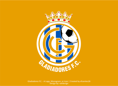 Gladiadores F.C. but not necessarily A Logo, Monogram, or Icon  Draft # 45 by validesign
