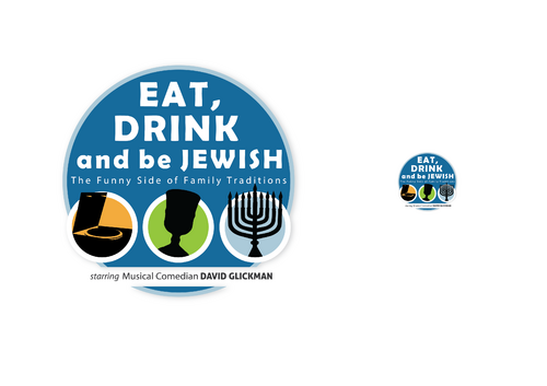 Eat, Drink and Be Jewish!    The Funny Side of Family Traditions A Logo, Monogram, or Icon  Draft # 55 by skysthelimit