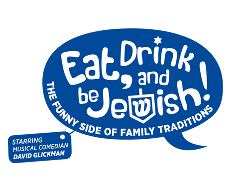 Eat, Drink and Be Jewish!    The Funny Side of Family Traditions A Logo, Monogram, or Icon  Draft # 70 by alcoholix