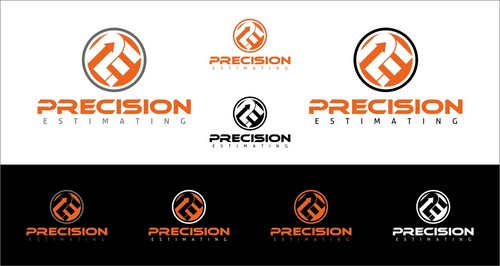 Precision Estimating A Logo, Monogram, or Icon  Draft # 207 by StartArts