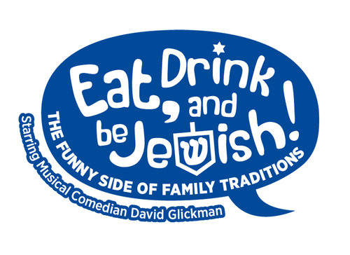 Eat, Drink and Be Jewish!    The Funny Side of Family Traditions A Logo, Monogram, or Icon  Draft # 71 by alcoholix