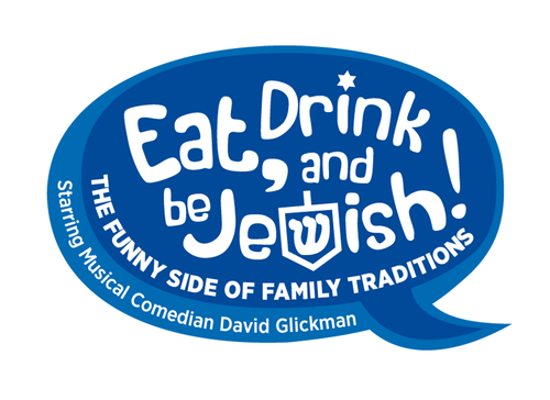 Eat, Drink and Be Jewish!    The Funny Side of Family Traditions A Logo, Monogram, or Icon  Draft # 72 by alcoholix