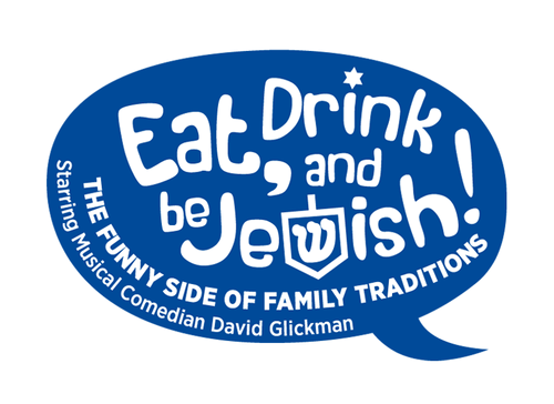 Eat, Drink and Be Jewish!    The Funny Side of Family Traditions A Logo, Monogram, or Icon  Draft # 73 by alcoholix