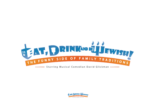 Eat, Drink and Be Jewish!    The Funny Side of Family Traditions A Logo, Monogram, or Icon  Draft # 75 by skysthelimit