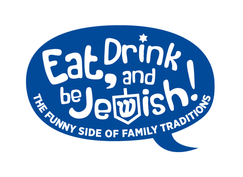 Eat, Drink and Be Jewish!    The Funny Side of Family Traditions A Logo, Monogram, or Icon  Draft # 80 by alcoholix