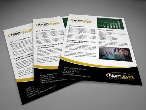 Next Level Media Group Marketing collateral  Draft # 9 by gugunte