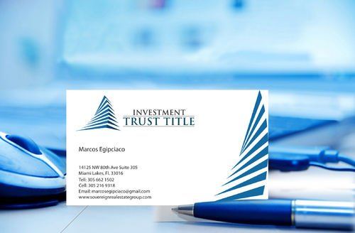 Stationary for Title Company  Business Cards and Stationery  Draft # 332 by jpgart92