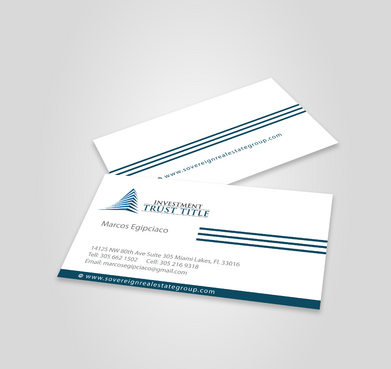 Stationary for Title Company  Business Cards and Stationery  Draft # 334 by jpgart92