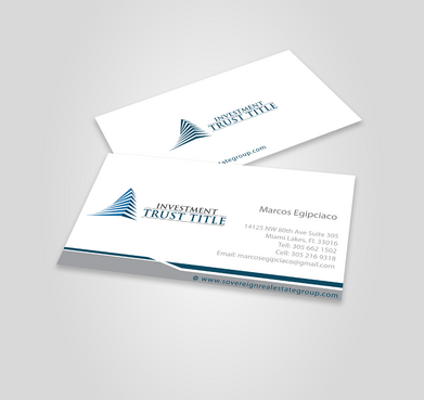 Stationary for Title Company  Business Cards and Stationery  Draft # 336 by jpgart92