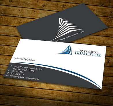 Stationary for Title Company  Business Cards and Stationery  Draft # 341 by jpgart92