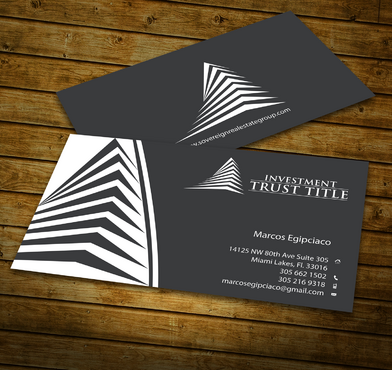 Stationary for Title Company  Business Cards and Stationery  Draft # 343 by jpgart92