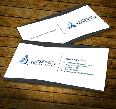 Stationary for Title Company  Business Cards and Stationery  Draft # 345 by jpgart92