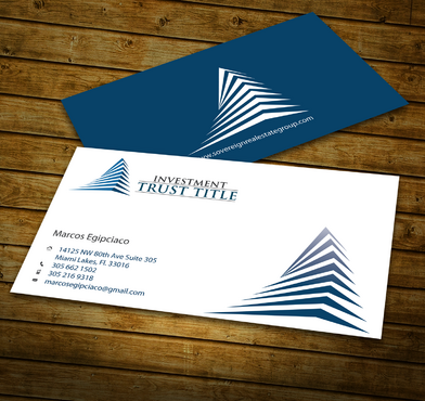 Stationary for Title Company  Business Cards and Stationery  Draft # 346 by jpgart92