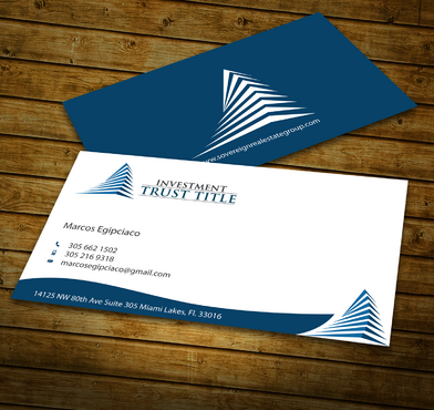 Stationary for Title Company  Business Cards and Stationery  Draft # 347 by jpgart92