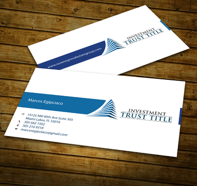 Stationary for Title Company  Business Cards and Stationery  Draft # 349 by jpgart92