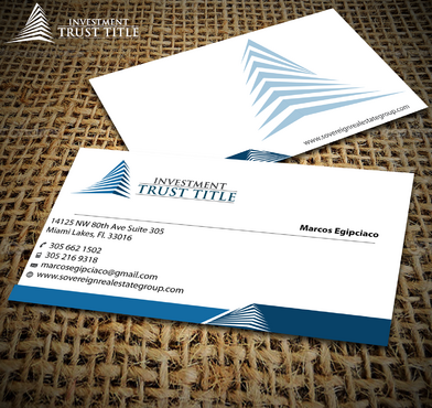 Stationary for Title Company  Business Cards and Stationery  Draft # 353 by jpgart92