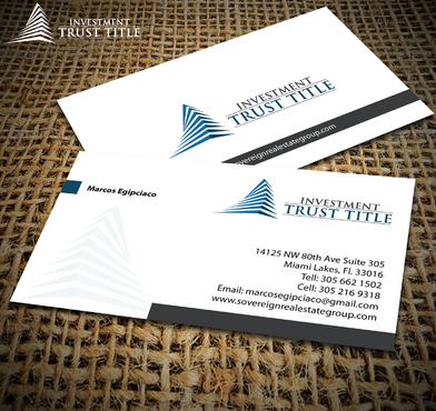 Stationary for Title Company  Business Cards and Stationery  Draft # 354 by jpgart92