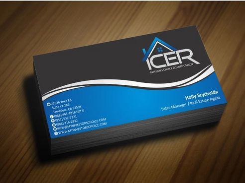 Investor's Choice Executive Realty Business Cards and Stationery  Draft # 163 by Deck86