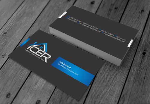 Investor's Choice Executive Realty Business Cards and Stationery  Draft # 172 by xtremecreative3
