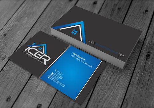 Investor's Choice Executive Realty Business Cards and Stationery  Draft # 175 by xtremecreative3