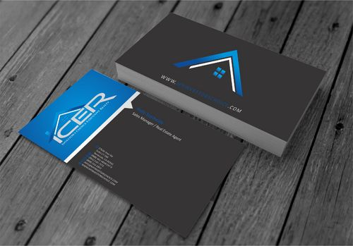 Investor's Choice Executive Realty Business Cards and Stationery  Draft # 174 by xtremecreative3
