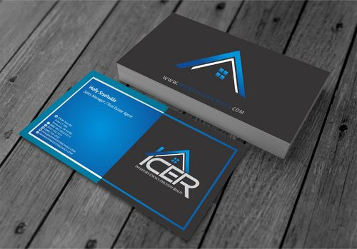 Investor's Choice Executive Realty Business Cards and Stationery  Draft # 178 by xtremecreative3
