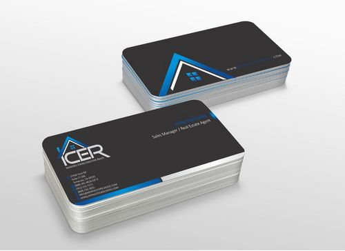 Investor's Choice Executive Realty Business Cards and Stationery  Draft # 179 by xtremecreative3