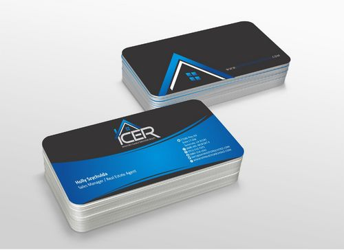 Investor's Choice Executive Realty Business Cards and Stationery  Draft # 187 by xtremecreative3