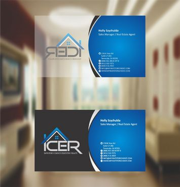Investor's Choice Executive Realty Business Cards and Stationery  Draft # 195 by xtremecreative3