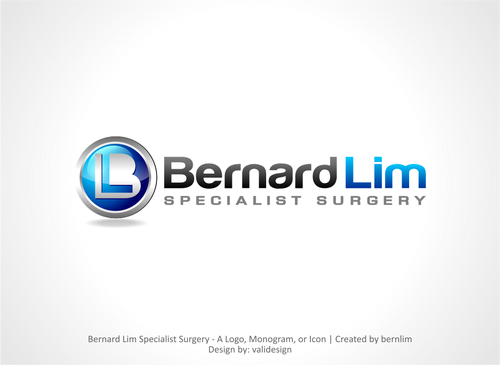 Bernard Lim Specialist Surgery A Logo, Monogram, or Icon  Draft # 4 by validesign