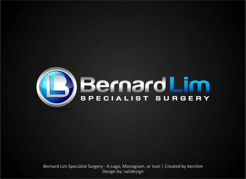 Bernard Lim Specialist Surgery A Logo, Monogram, or Icon  Draft # 5 by validesign