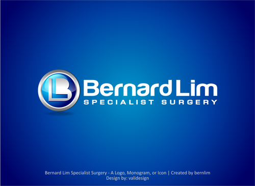 Bernard Lim Specialist Surgery A Logo, Monogram, or Icon  Draft # 6 by validesign