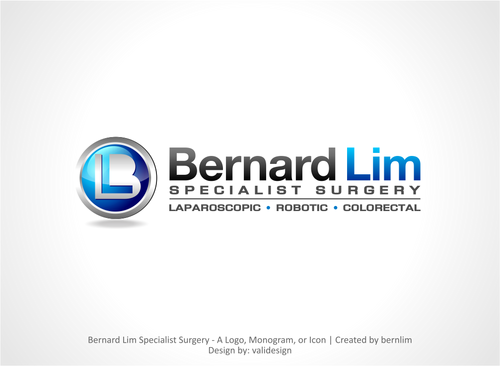 Bernard Lim Specialist Surgery A Logo, Monogram, or Icon  Draft # 10 by validesign