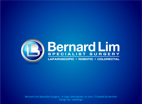 Bernard Lim Specialist Surgery A Logo, Monogram, or Icon  Draft # 11 by validesign
