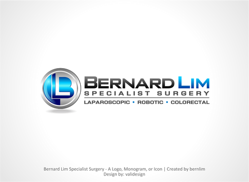 Bernard Lim Specialist Surgery A Logo, Monogram, or Icon  Draft # 12 by validesign
