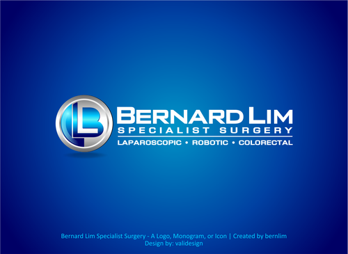 Bernard Lim Specialist Surgery A Logo, Monogram, or Icon  Draft # 13 by validesign