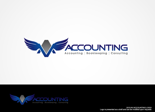 Av Accounting A Logo, Monogram, or Icon  Draft # 272 by hands4art